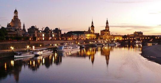 Für die Patienten zur Fortbildung in Dresden sind: Dr. Fieseler, Dr. Laudon, Dr. Esser-Bartels